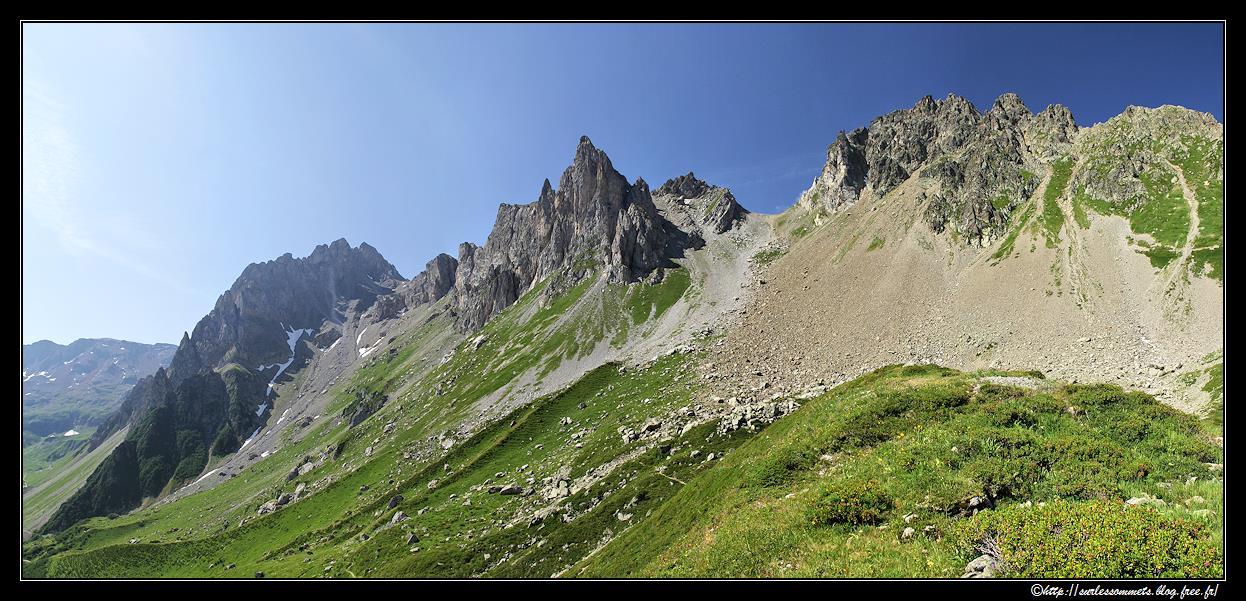 traversée aiguille croche mont joly